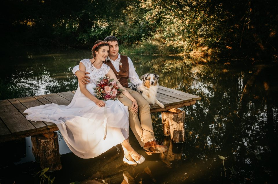 Svatba zámecký mlýn Nejdek