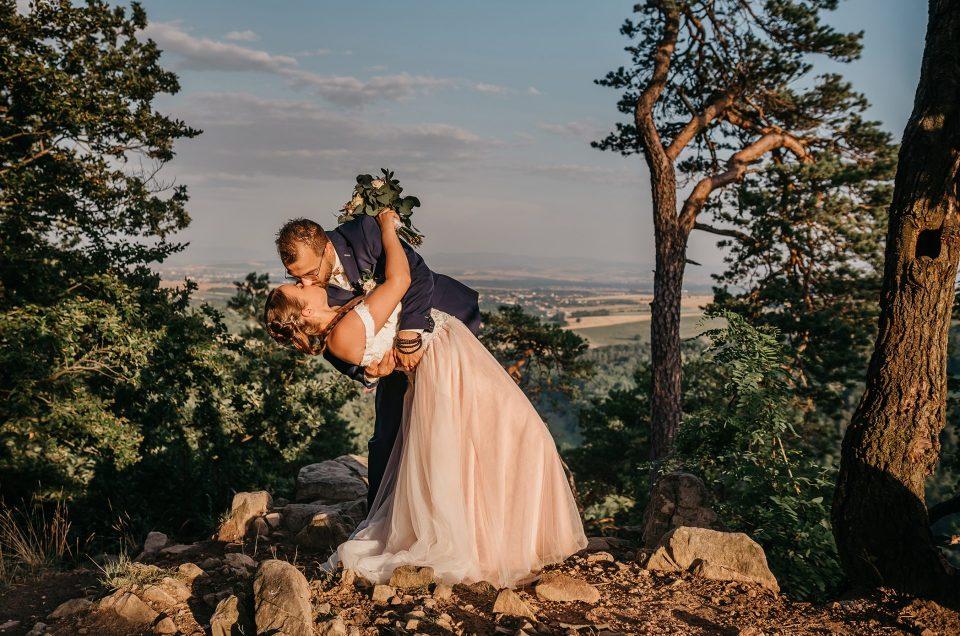 Svatba Břestecká skála